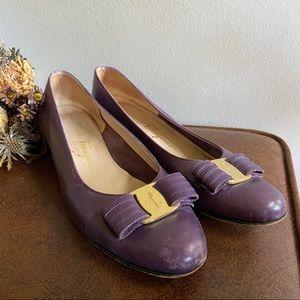 Salvatore Ferragamo • Vara Bow Low Heels